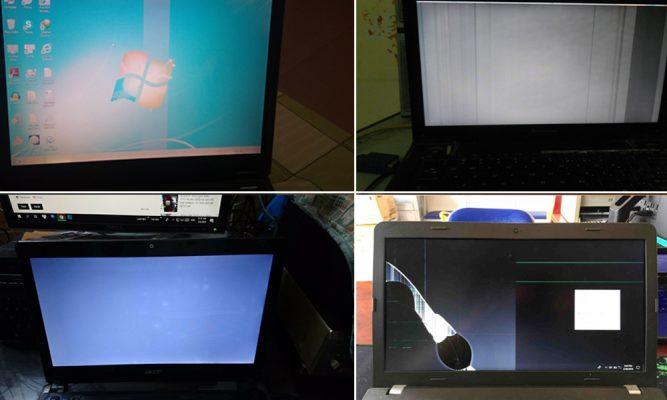 Màn hình laptop bị lỗi