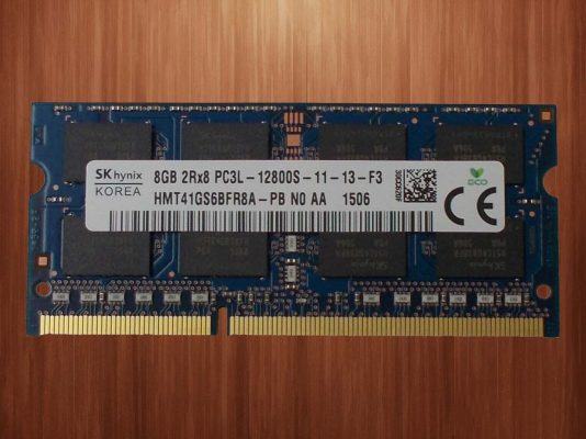 Ram laptop ddr3 8GB Bus 1600mhz cũ