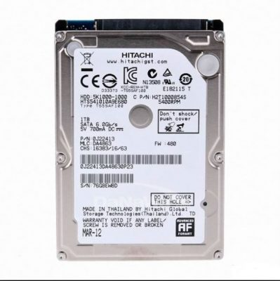 Ổ cứng laptop Hdd 500GB Hitachi