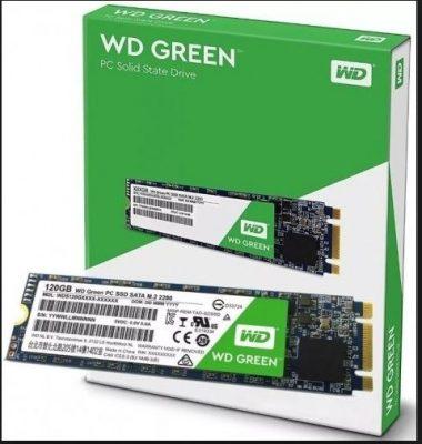 Ổ cứng SSD WD Western Digital Green 120GB WDS120G2G0B M.2 2280 SATA
