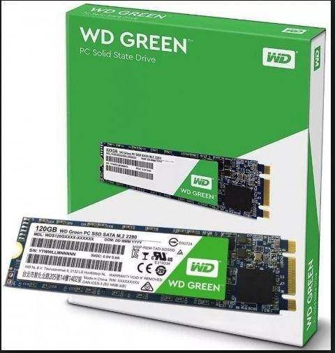 SSD WD Western Digital Green 120GB