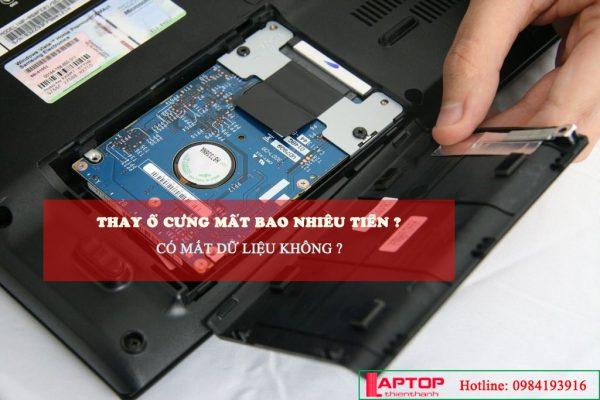 Thay ổ cứng llaptop có mât dữ liệu không?